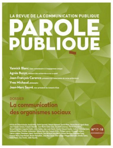 Parole publique n° 17-18