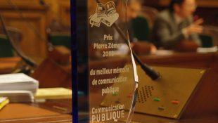 Remise du prix pierre zémor du meilleur mémoire 2018 de communication publique