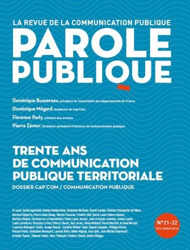 Parole publique n°21-22