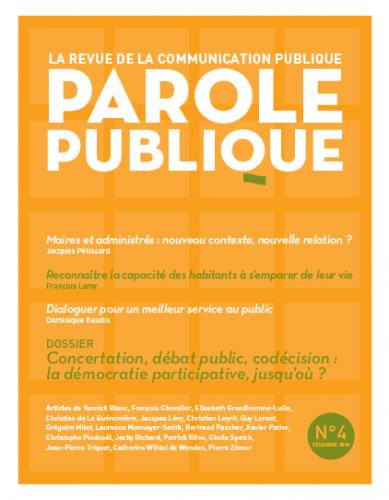 Parole publique n°4