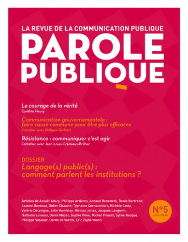 Parole publique n°5
