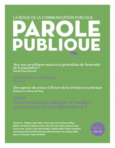 Parole publique n°6