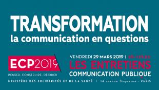 Retour sur les entretiens 2019 de communication publique