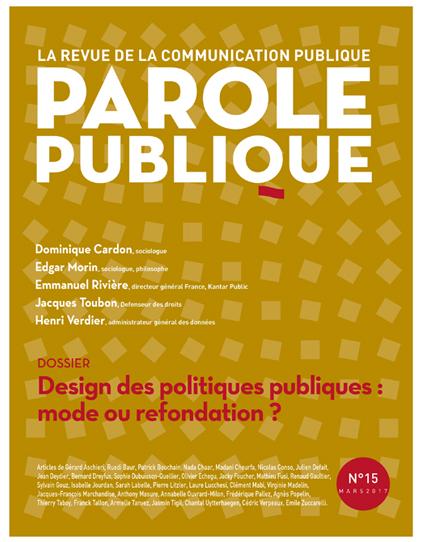 Revue Parole Publique - n°15