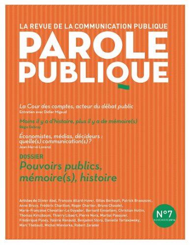 Parole publique n°7