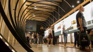 Journee portes ouvertes le 15 septembre 2018 a la Fabrique du metro a Saint-Ouen - Apres-midi d'ouverture au grand public.