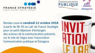 Matinée au Lab' de France Stratégie